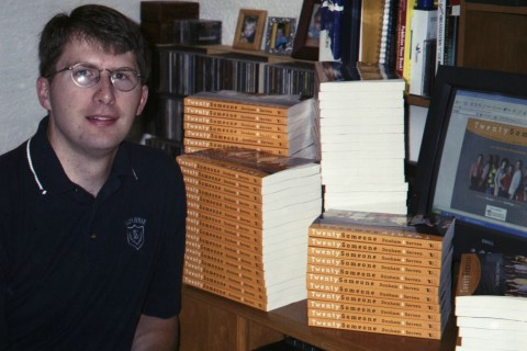 Craig with Books
