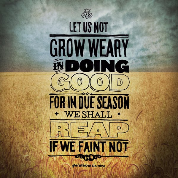 keep sowing